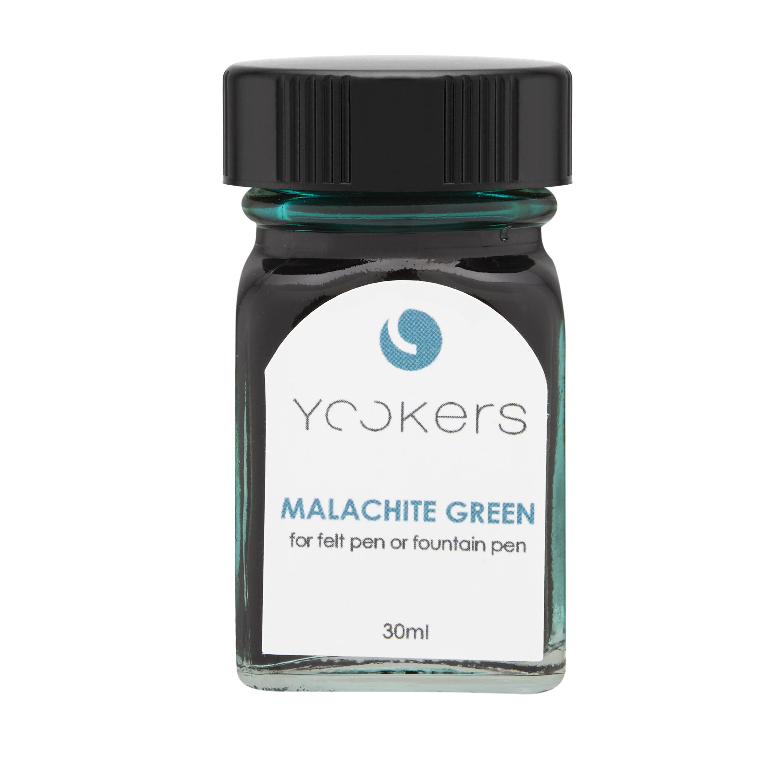 Malachitebottle